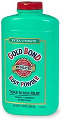 Gold Bond Triple Medication Body Powder with Menthol