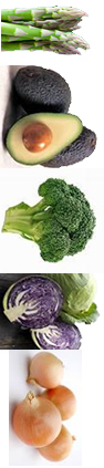 Least Contaminated Vegetables